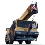 Crane truck — Stock Photo #11216616