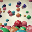Bouncing gumballs — Stock Photo #11563881