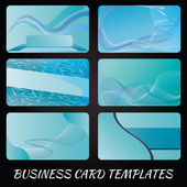 Business-card-templates-4 — Stock Vector