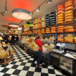 Stock Photo: Cheese shop in Amsterdam
