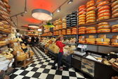 Cheese shop in Amsterdam — Stock Photo