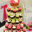 Cup Cakes At wedding — Stock Photo