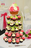 кубок торты на свадьбу — Стоковое фото