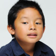 Asian boy looks innocent — Stock Photo #11944952