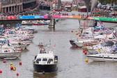 Bristol Harbour Festival Scene 1 — Stock Photo