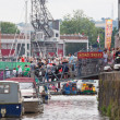 Stock Photo: Docks Festival Crowds