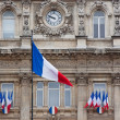 Stock Photo: Flags for Bastille Day