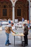 Chess Players — Stock Photo