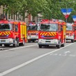 Fire Brigade on Parade - Stock Photo