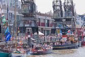 Festival Quayside — Stock Photo