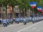 Police Convoy — Stock Photo
