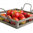 Apples on tray — Stock Photo #11799277