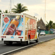 Havana Club truck in Cuba — Foto de Stock