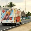 Havana Club truck in Cuba — Stock Photo