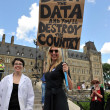 Death Of Evidence March in Ottawa, Canada — Stock Photo