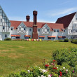 The Keltic Lodge in Cape Breton, Canada - Stock Photo