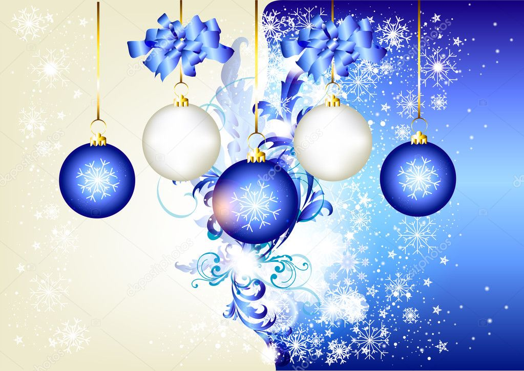 Blue Christmas Background hd Blue Christmas Background For