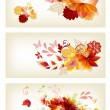 Brochure design in floral style — Stock Vector