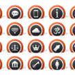 Royalty-Free Stock Photo: Lot of icons