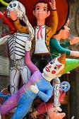 Paper mache characters — Stock Photo