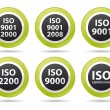 Iso icons - Stock Photo