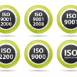 Iso icons — Stock Photo