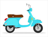 Vintage scooter — Stock Photo