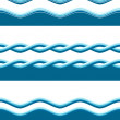 Water waves — Stock Photo