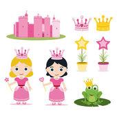 Prinses set — Stockfoto