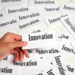 Innovation sign - Stock Photo