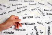 Innovation sign — Stock Photo