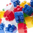 Plastic constructor bricks — Stock Photo #10838439