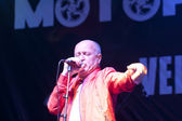 Yordan Karadzhov at motorock fest — Stock Photo
