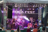 Eridan band at motorock fest — Stock Photo