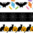 Stock Vector: Halloween Fright Ribbon