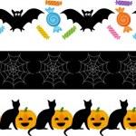 Halloween Fright Ribbon — Stock Vector