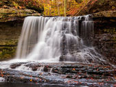 McCormick's creek Falls in Fall — Stock Photo