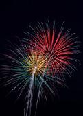 Pyrotechnic Colors — Stock Photo