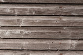 Weathered Wood Siding — Stock Photo