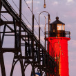 South Haven Lighthouse at Sunrise — Stock Photo #11752143