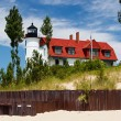 Pointe Betsie Lighthouse — Stock Photo