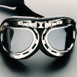 Close up photo of bike goggles — Stock Photo #11565121