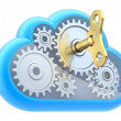 Cloud computing concept — Stock Photo #11822880