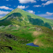 Green mountains — Lizenzfreies Foto