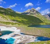 Красивый Кавказа горы сцены — Стоковое фото