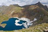Krásné jezero horách — Stock fotografie