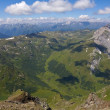 Mountain valley panorama — Stock Photo #12024290