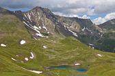 Vallée de montagne du caucase — Photo
