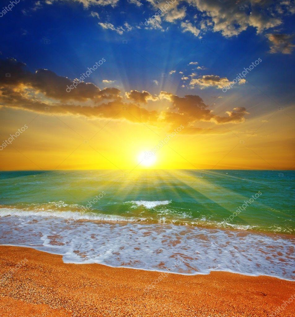 Most Beautiful Sea Images Beautiful Evening Sea Beach