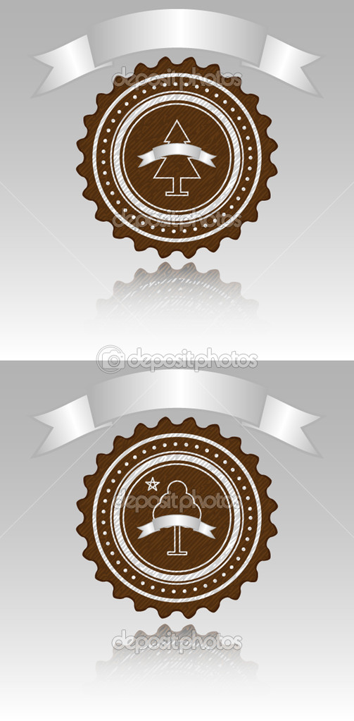 Logo for the woodworking industry, symbol, banner. — Stock Vector #11618029